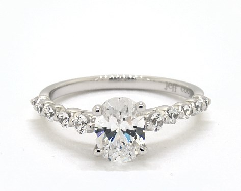 Angelina Oval Engagement Ring