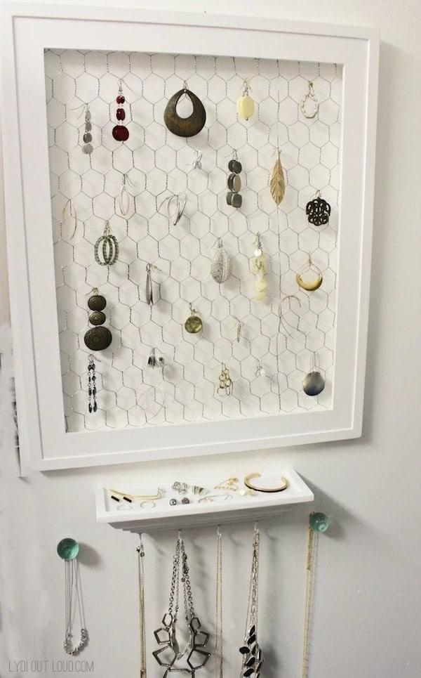 DIY Jewelry Organizer – Lydi Out Loud