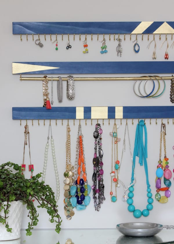DIY Jewelry Organizer – The Homes I Have Made