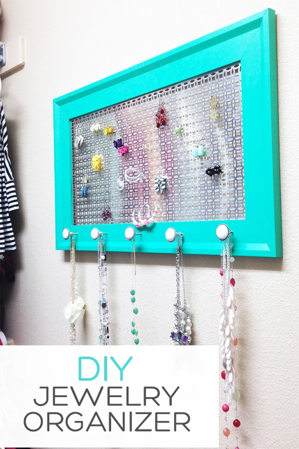 DIY Jewelry Organizer – landeelu.com