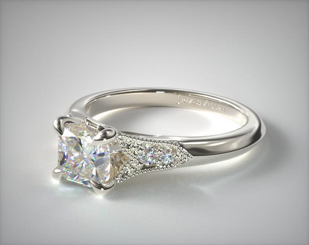 Fancy Yellow Art Deco-Inspired Ring