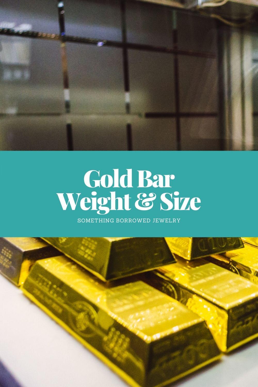Gold Bar Weight & Size pin 2