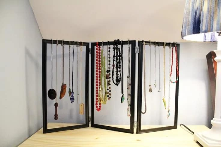 Jewelry Organizer DIY Dollar Store Hack – Ideas for the Home