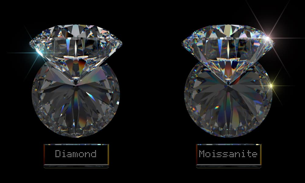 Moissanite vs. Diamond What's the Difference