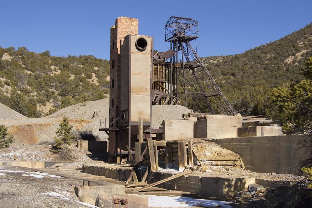 New Mexico gold mine