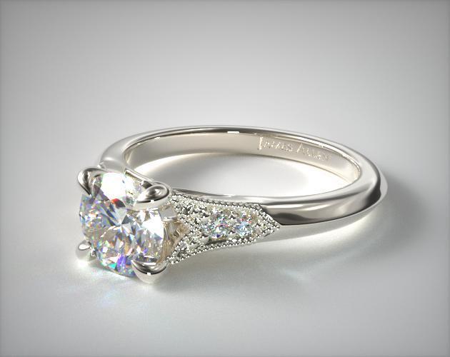 Platinum Ruby Art Deco Ring