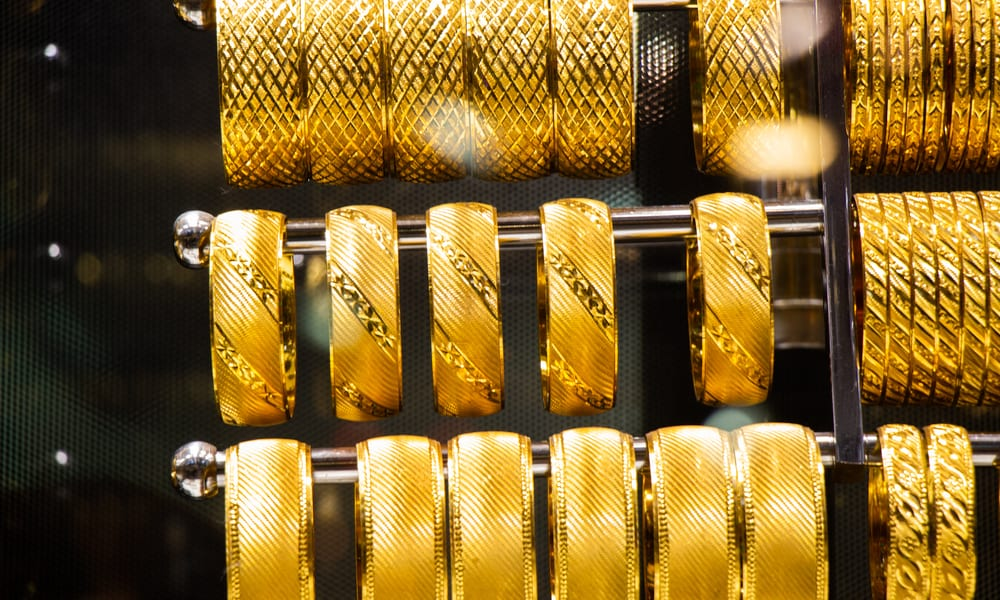 Price of 24K gold