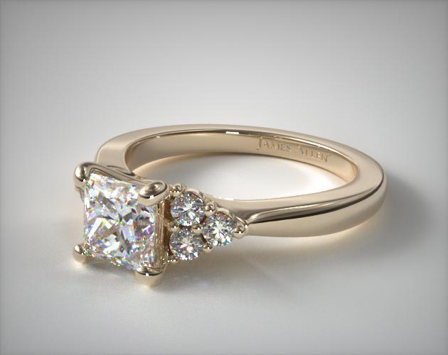 Seven-Stone Princess Cut Ring