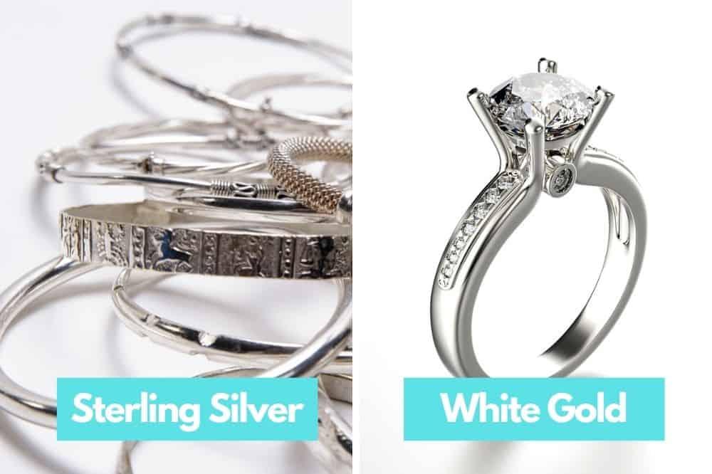Sterling Silver vs. White Gold