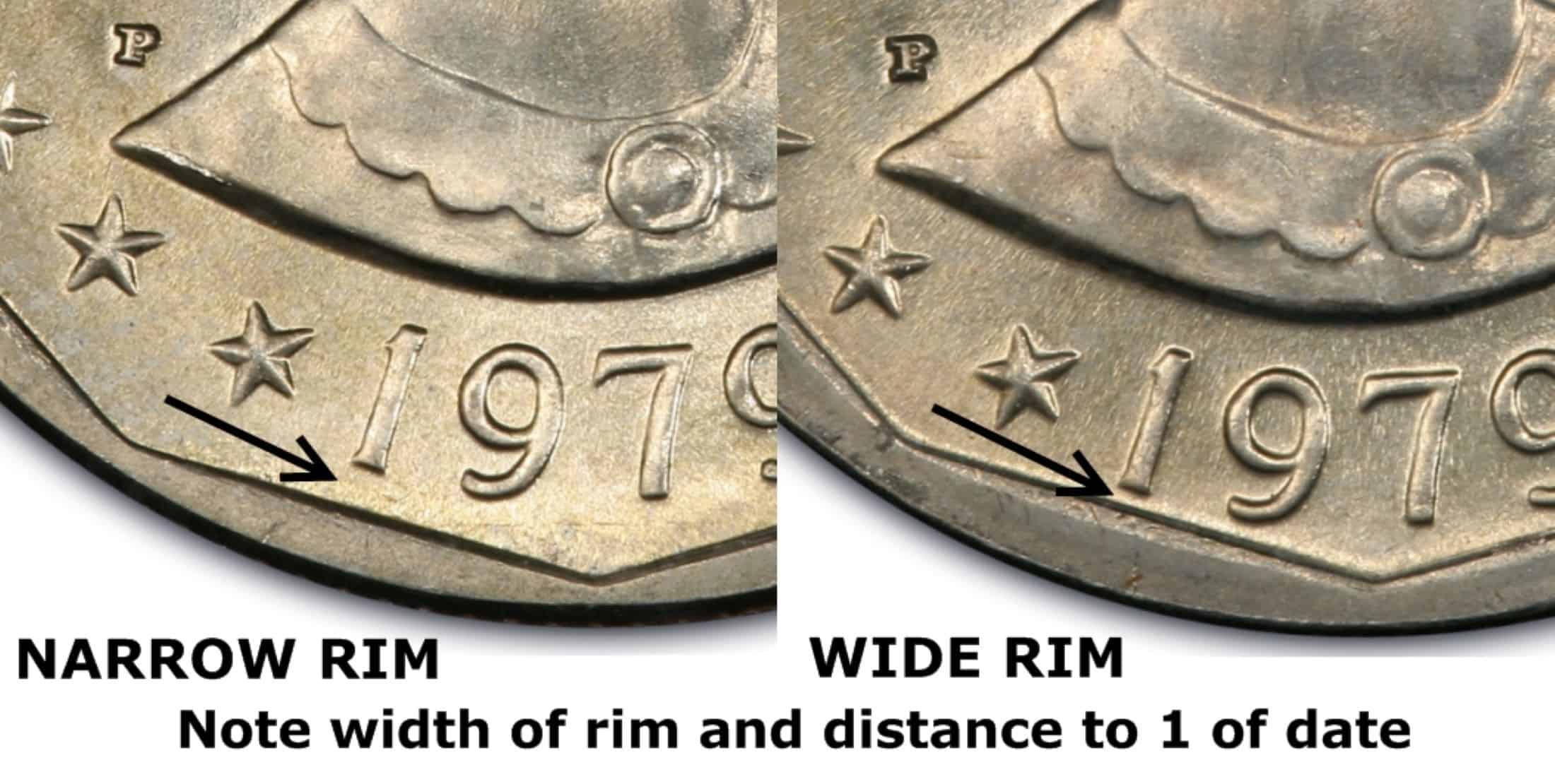 The Wide Rim Silver Dollar Coin