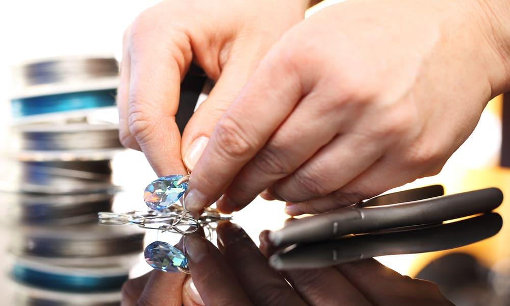 Which to choose Swarovski crystals vs diamonds
