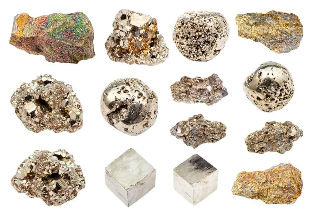 gold-like minerals