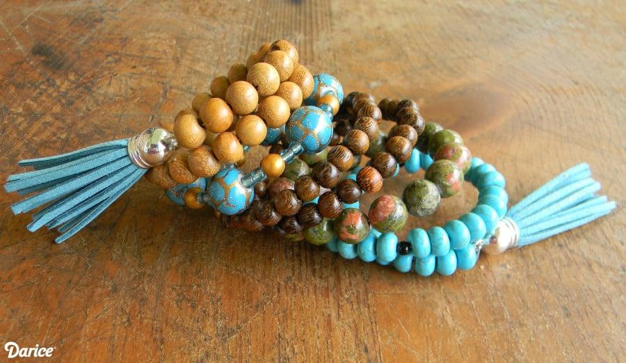 Bohemian Bracelet DIY Tutorial – Live.Craft.Love.