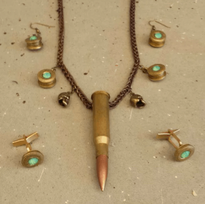Bullet Necklace 5 Steps (with Pictures) – Instructables