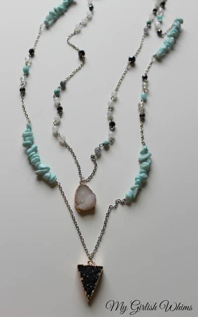 DIY Boho Chain Necklace Set My Girlish Whims