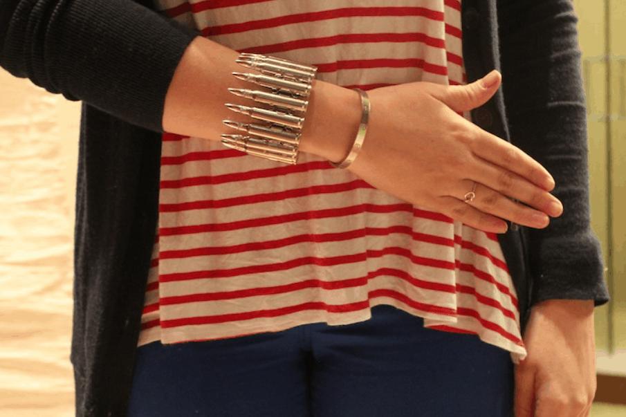 DIY Bullet Cuff – The Stripe