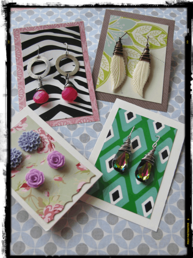 DIY Earring Cards that won't break the bank! – Rings and Things