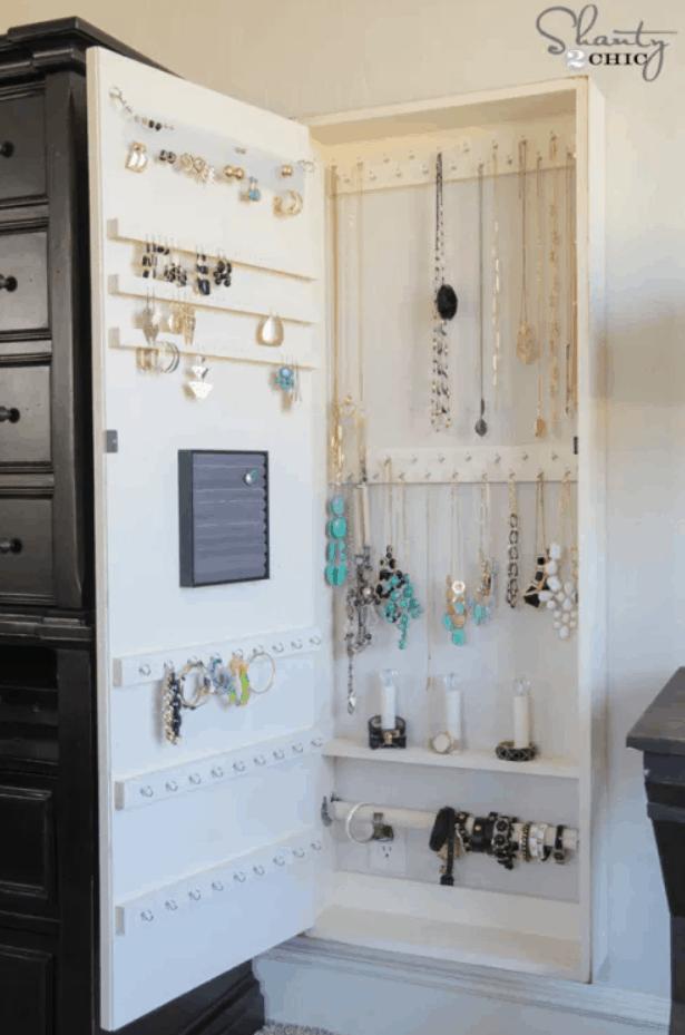 DIY Jewelry Organizer!! – Shanty 2 Chic