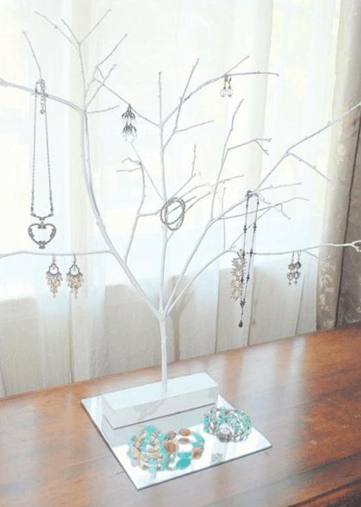 DIY Jewelry Tree – Centsational Style