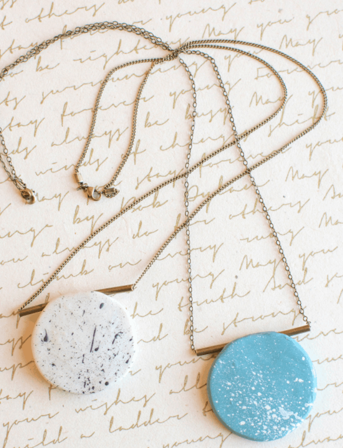 DIY Polymer Clay Necklace – Lia Griffith