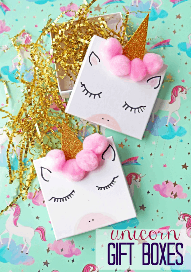 DIY Unicorn Jewelry Gift Boxes for Valentine's Day – Gluedtomycraftsblog.com