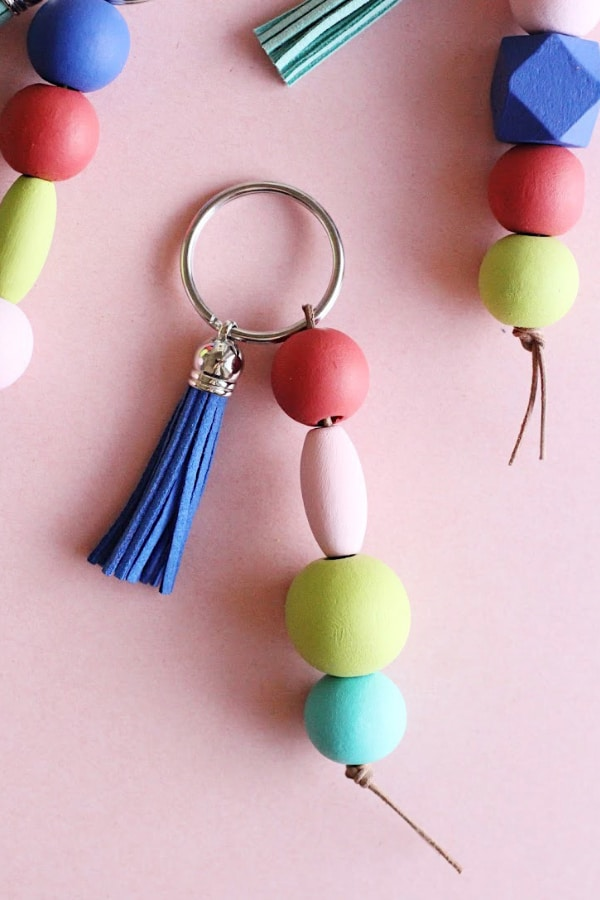 Easy DIY Keychains with Wood Beads – Consumer Crafts