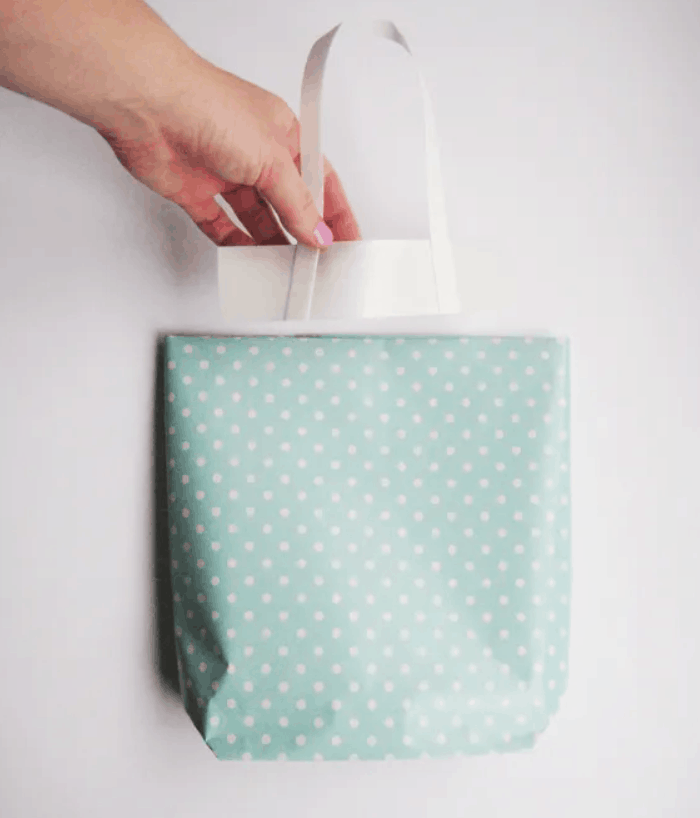 Hello Sandwich Paper Gift Bag Tutorial