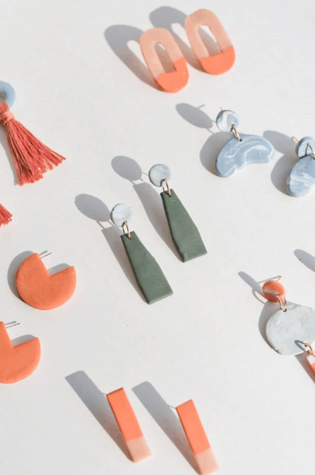 How to Make Clay Earrings + Cool DIY Clay Jewelry Techniques