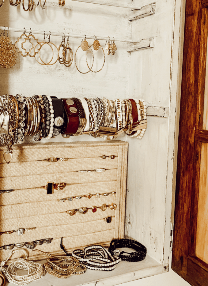 How to Make a Jewelry Cabinet from a Window – Deb and Danelle