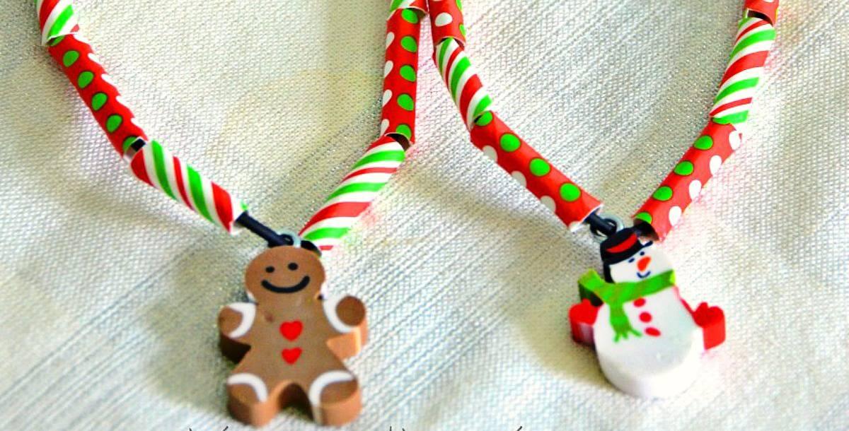 Kid's Christmas Necklaces - Sunshineandhurricanes.com