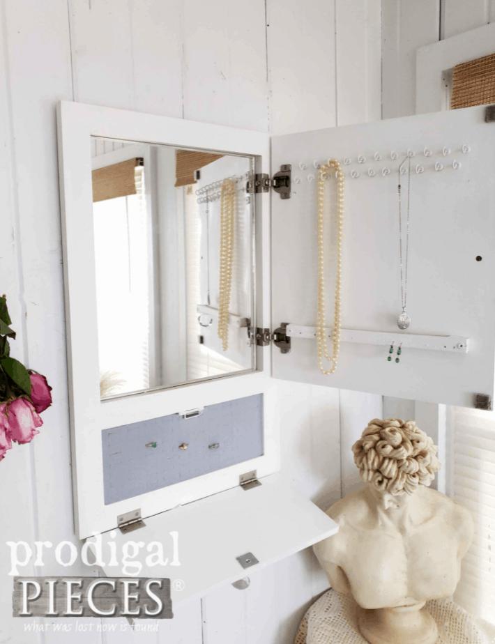 Repurposed Cupboard Door Jewelry Cabinet – Prodigal Pieces