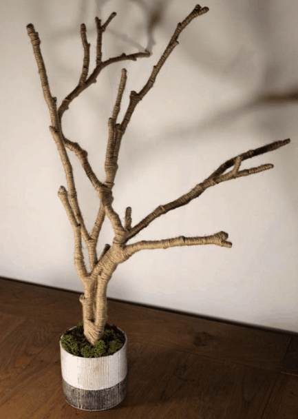 Rustic and Simple DIY Jewelry Tree – FaveCrafts.com