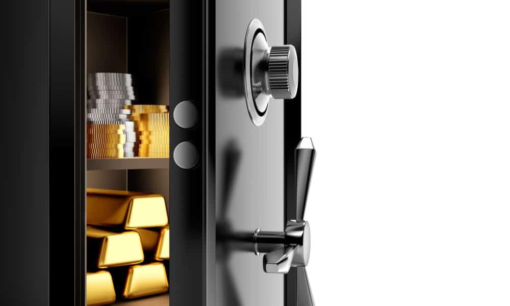 Storing Gold Bars