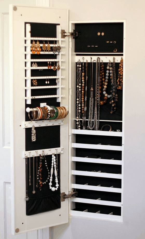 The Family Jewels Building a Concealed Jewelry Cabinet – Old Town Home