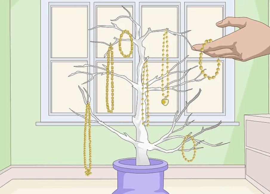 Three Ways to Make a Jewelry Tree – wikiHow