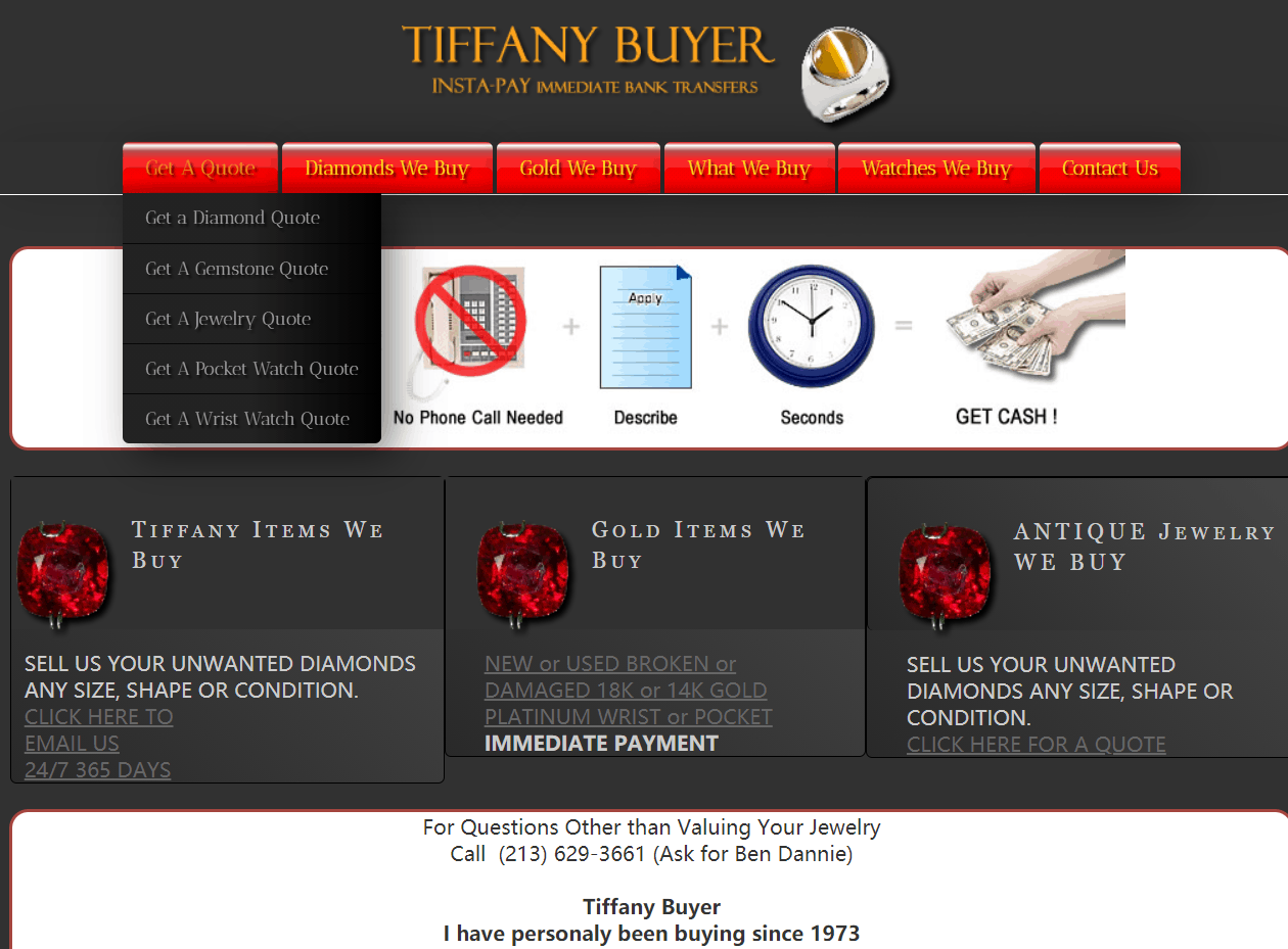 Tiffany Buyer