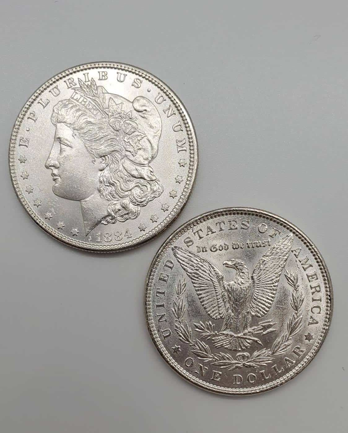 Features of the 1884 Morgan Silver Dollar