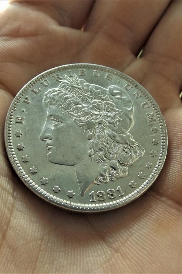 1881 Morgan Silver Dollar Grading