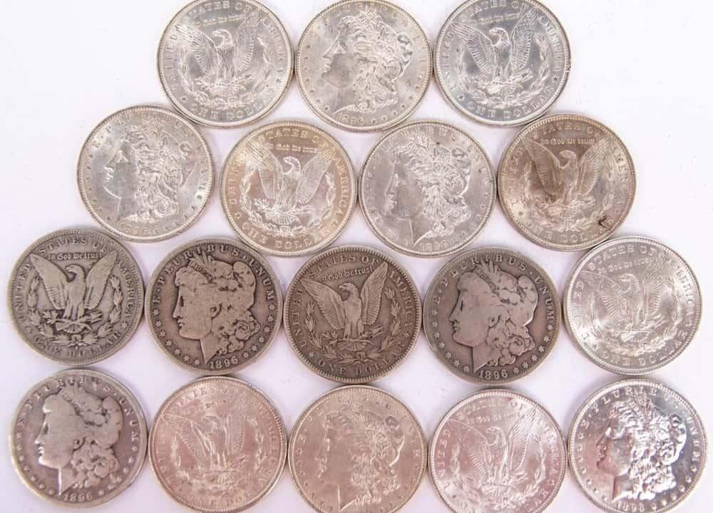 1896 Morgan Silver Dollar Condition