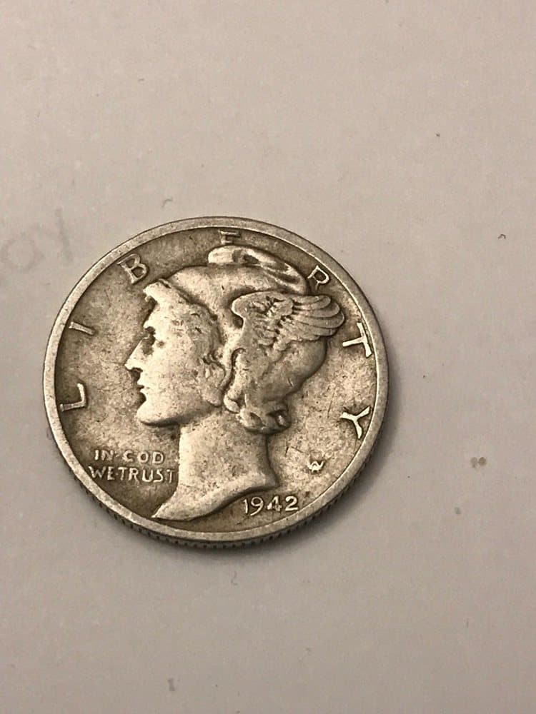 1942 Mercury Dime Value