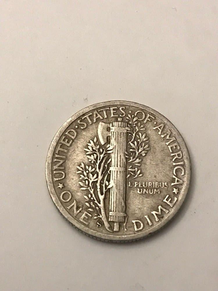 1942 S Mercury Dime Value