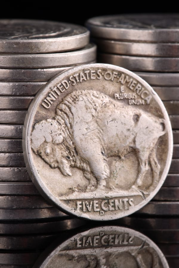 Features of 1937-nickel coin