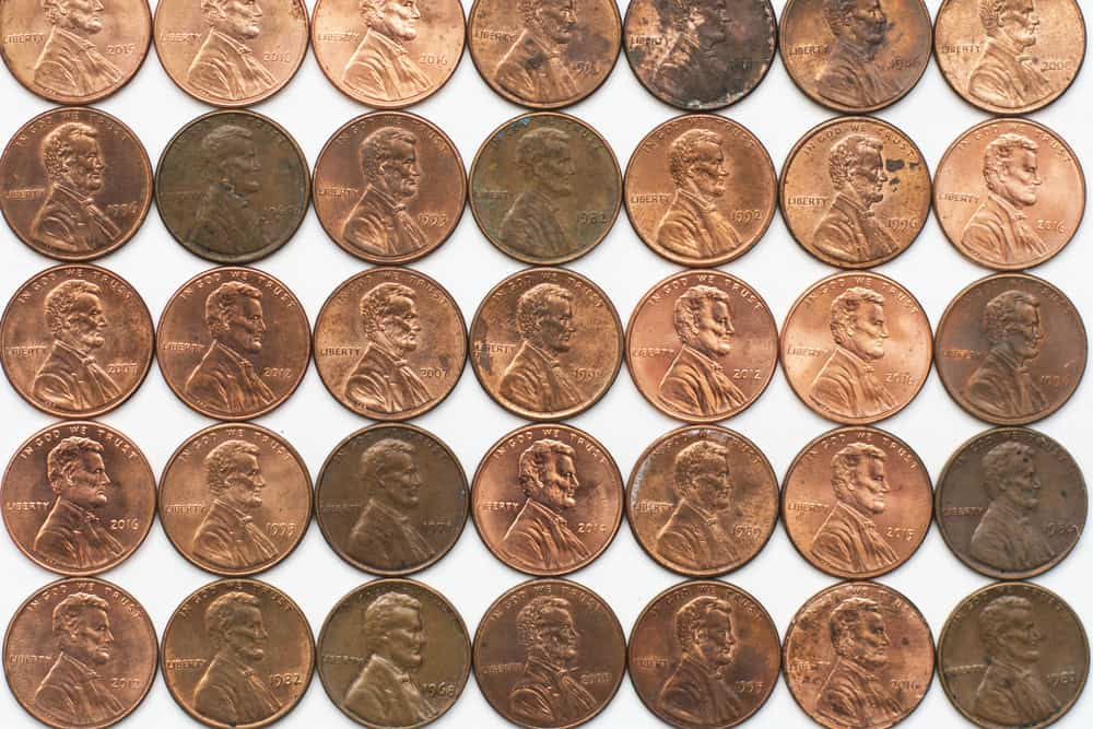 Lincoln Penny Values and Prices Table