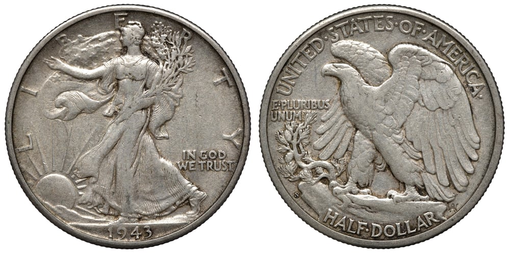 Reason for minting the 1943 50-cent coin