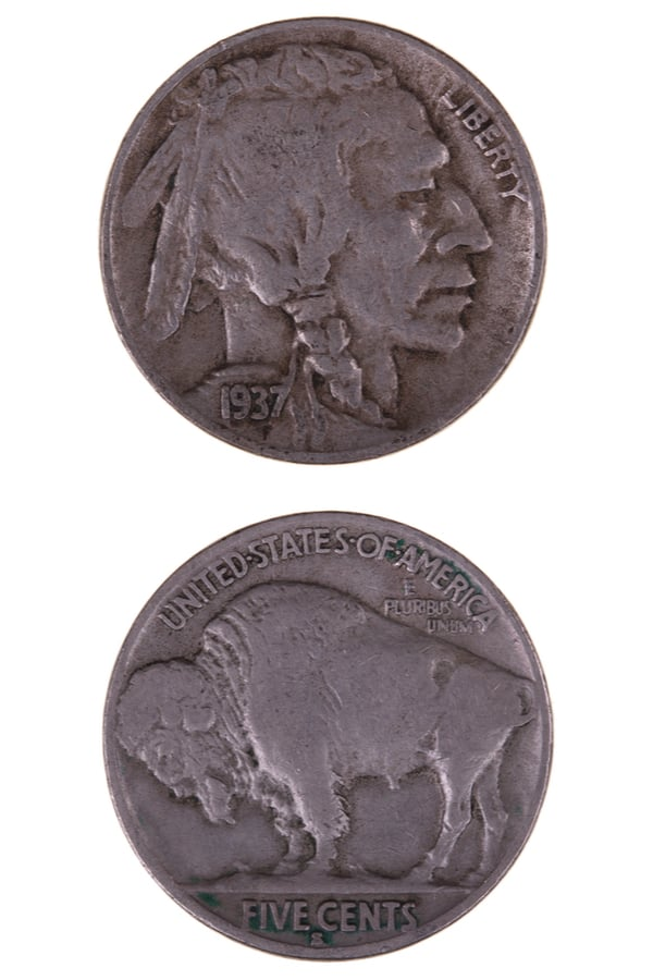 What is the 1937-nickel coin