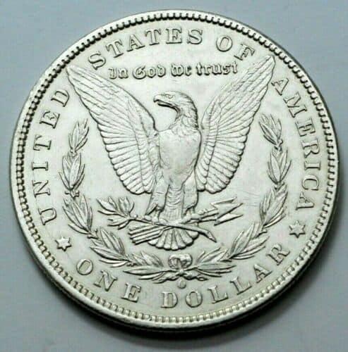 1897 Morgan Silver Dollar Reverse