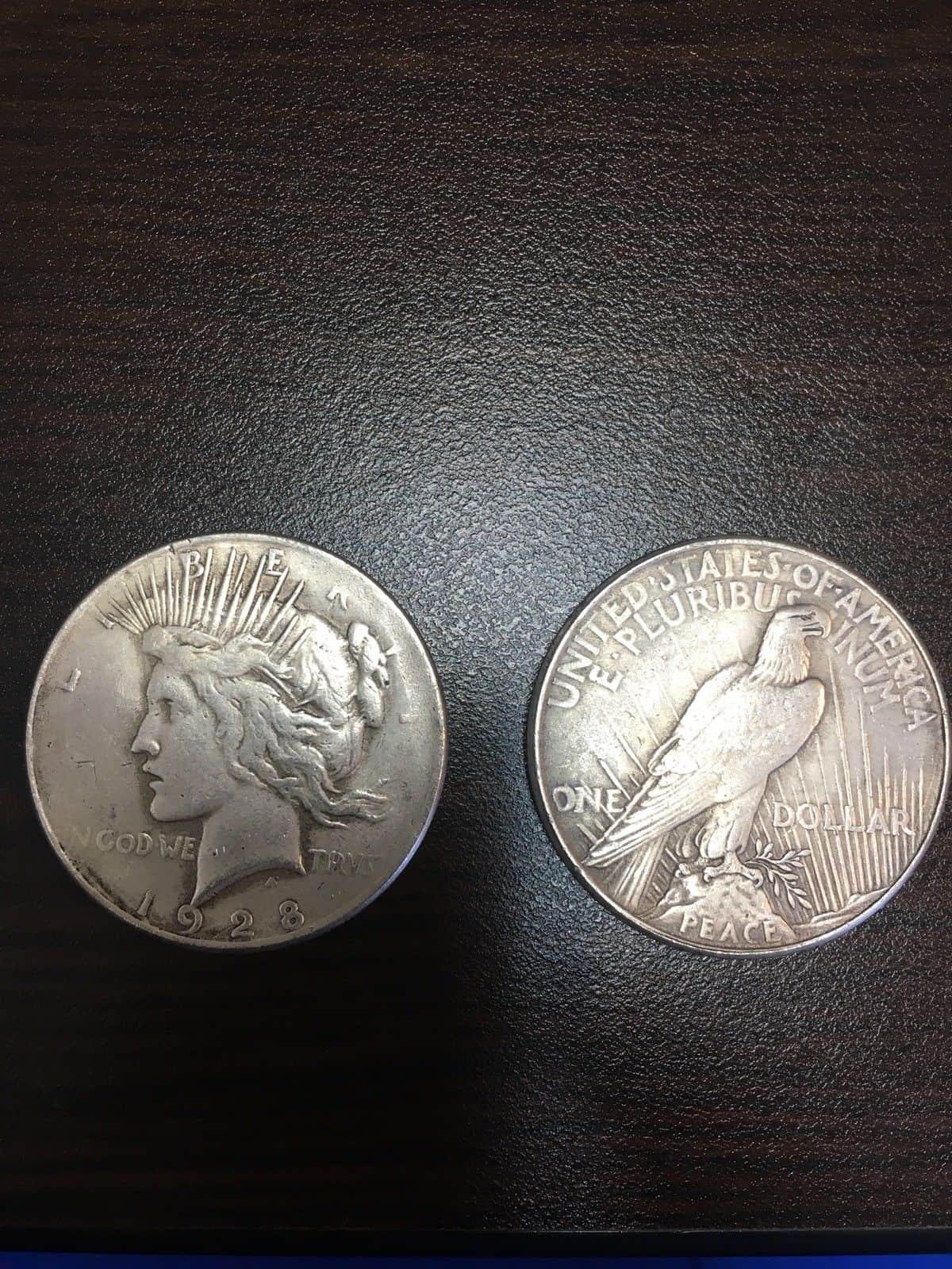 1928 Peace Silver Dollar Value