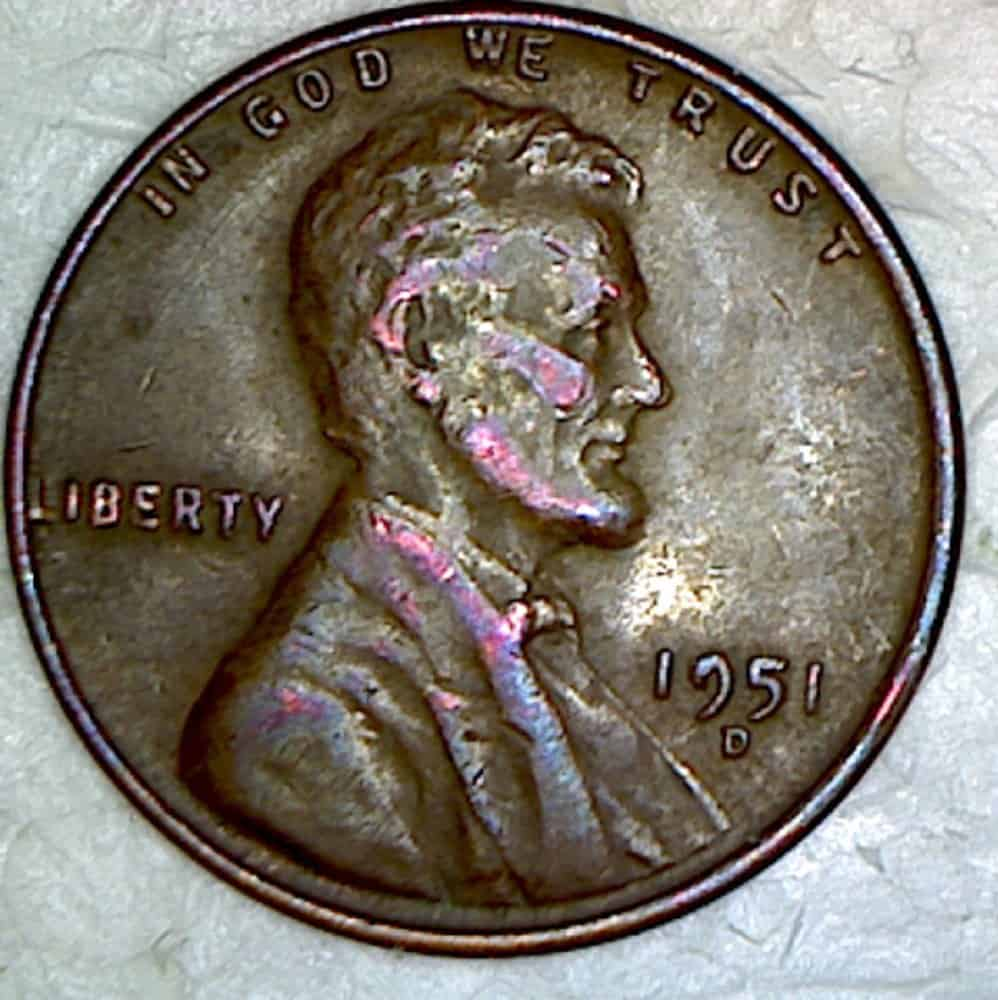 1951 Wheat Penny Obverse