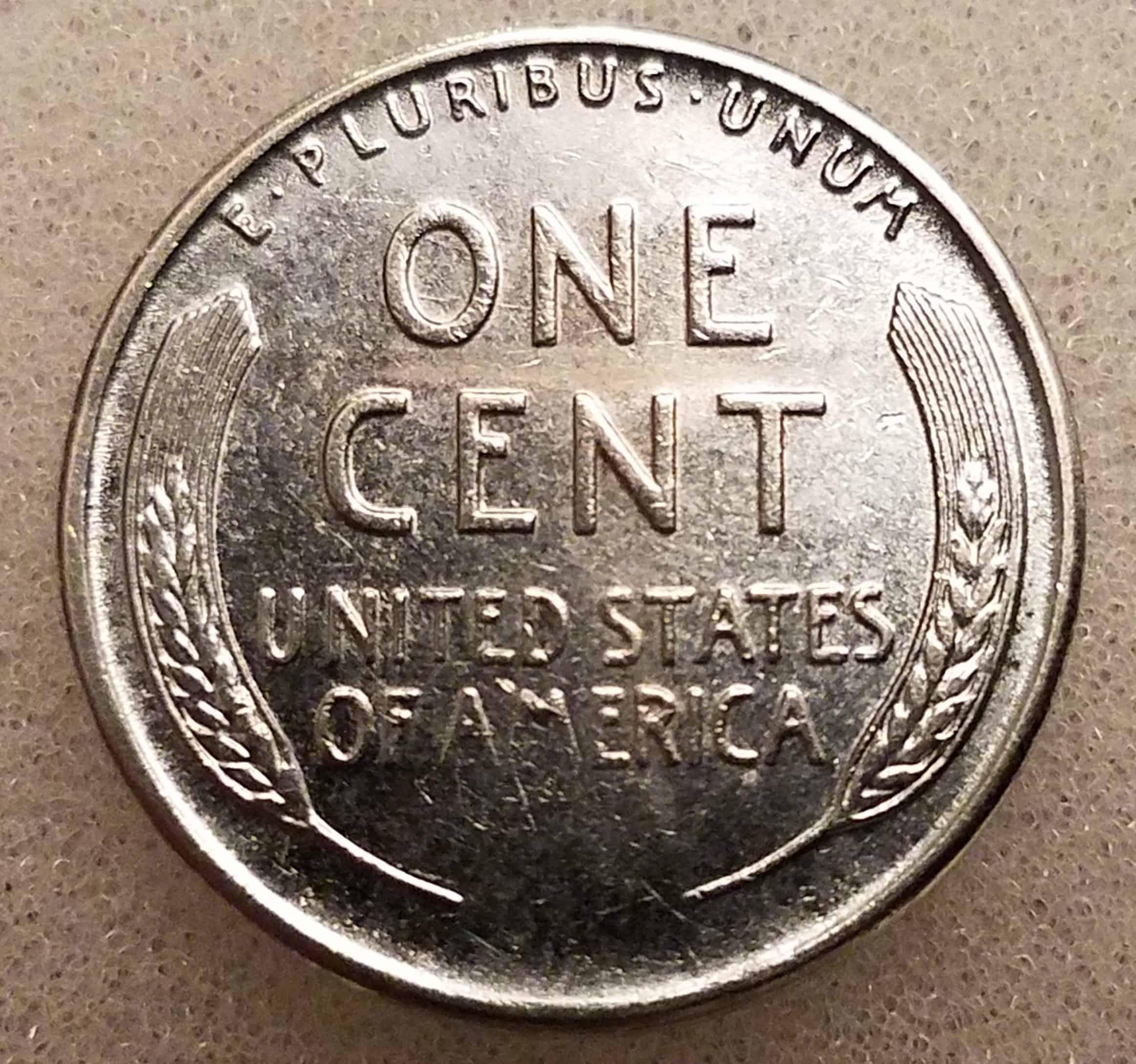 1951 Wheat Penny Reverse
