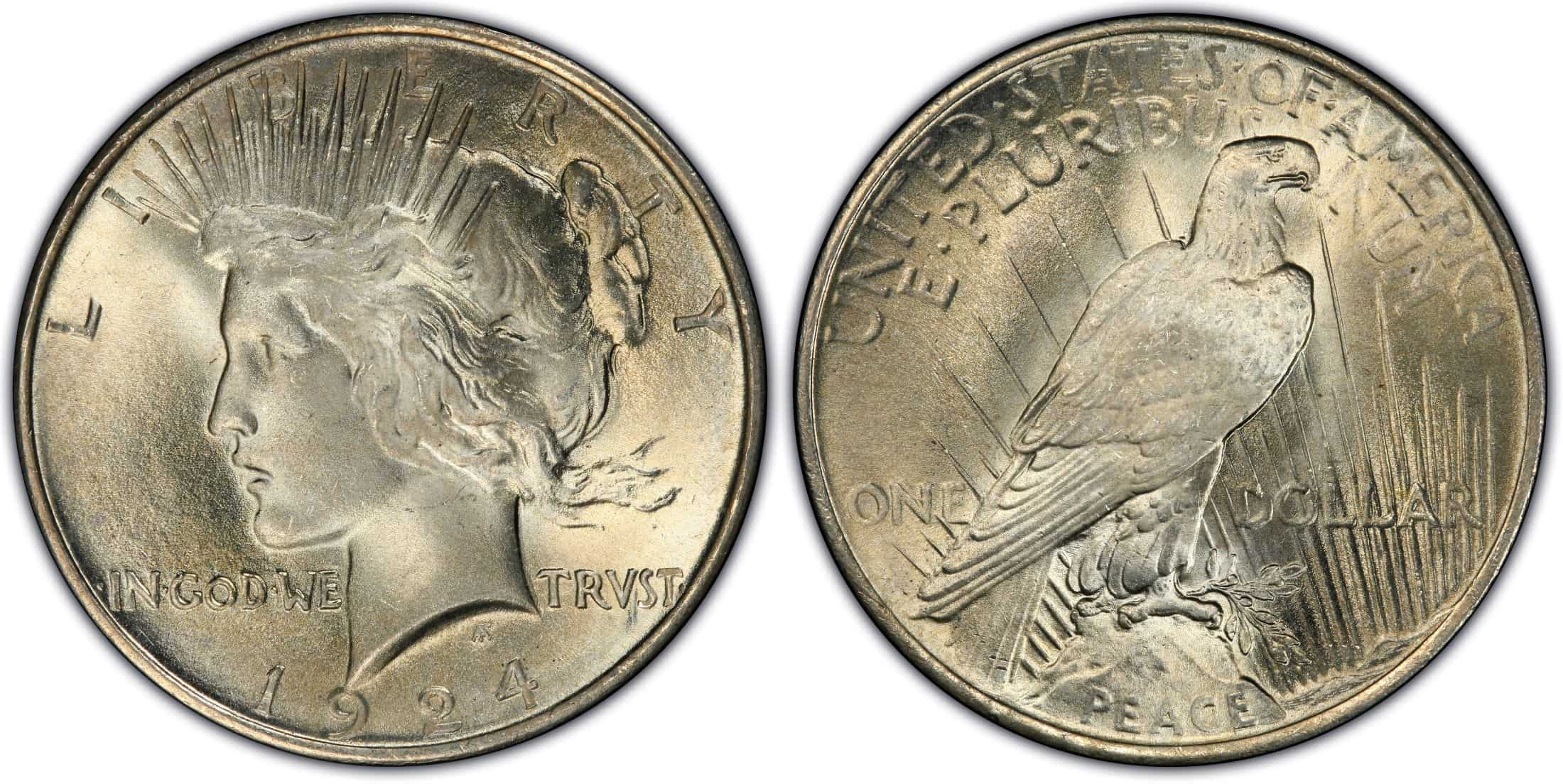Factors that Influence the 1924 Peace Silver Dollar Value